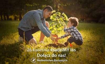 26 kwietnia #sadziMY las. Weź sadzonkę z nadleśnictwa