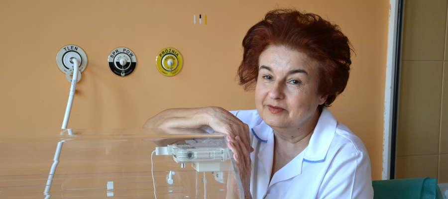 lek. neonatolog Małgorzata Szołucha