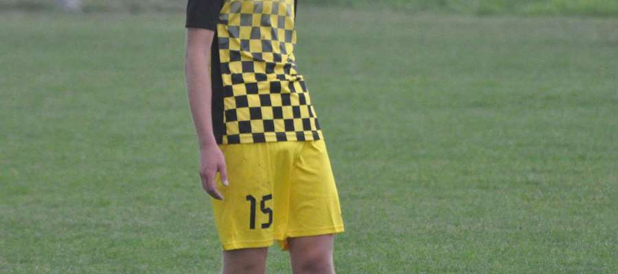 Damian Kawczyński już w 28 minucie opuścił boisko fot. mo