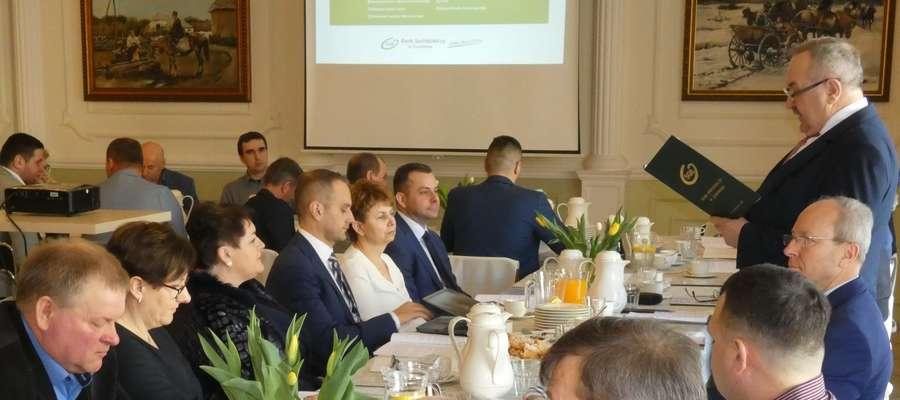 Prezes Kazimierz Bulkowski przedstawił sprawozdanie za 2018 rok