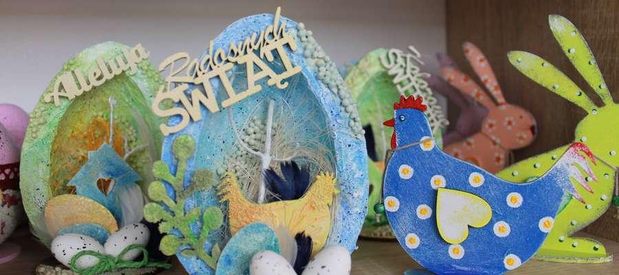 To tylko niektóre prace, które będzie można kupić podczas Kiermaszu Wielkanocnego