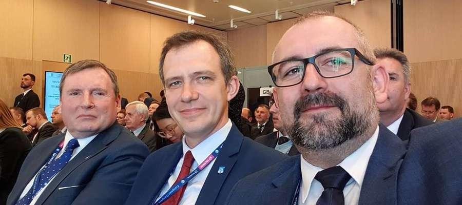 Starosta Przasnyski Krzysztof Bieńkowski uczestniczył w V Europejskim Kongresie Samorządów w Krakowie