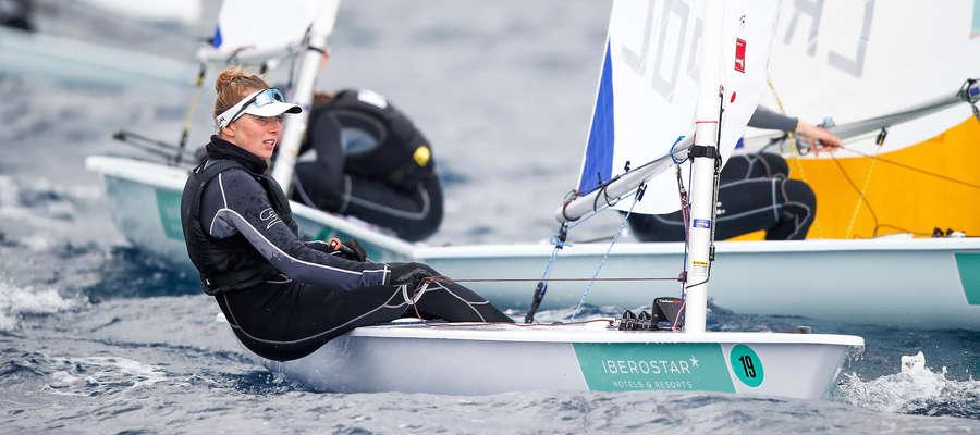 Agata Barwińska (tu podczas regat na Majorce) wróciła na chwilę do Iławy, jednak lada dzień wyjeżdża do Porto, gdzie wystartuje w otwartych mistrzostwach Portugalii