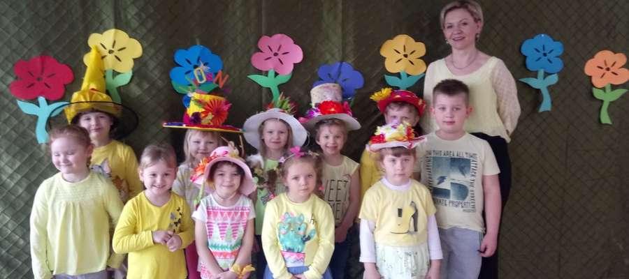 W szkole w Boleszynie widać było nadejście wiosny...