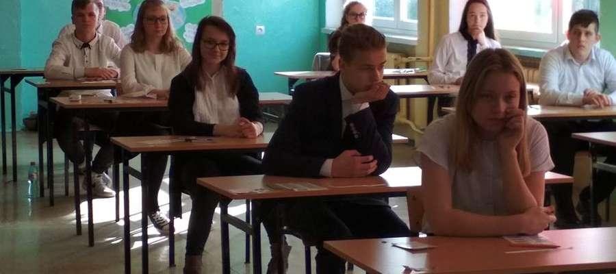 Trwają egzaminy gimnazjalne (na zdjęciu uczniowie z Kiwit)