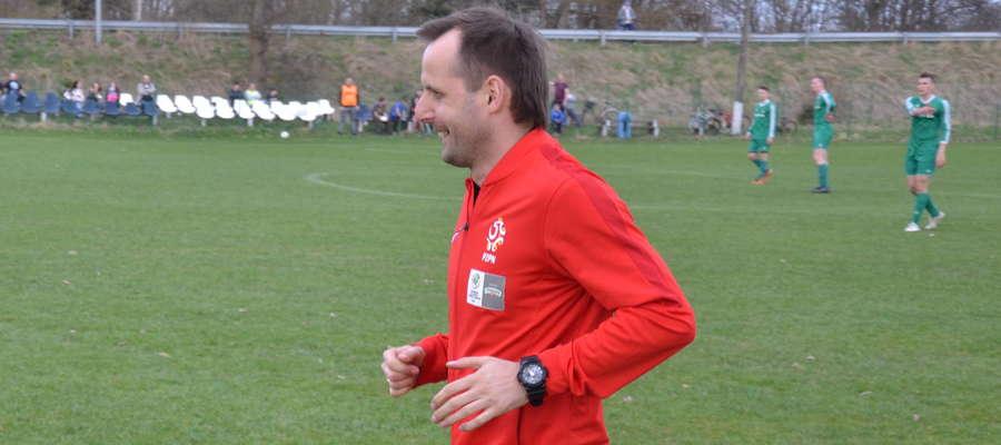 Paweł Oliwa przez kilka sezonów prowadził Tęczę Miłomłyn
