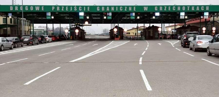 Przejście Graniczne w Grzechotkach
