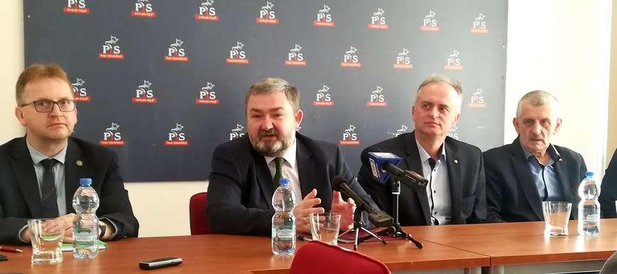 W konferencji Karola Karskiego brali m.in. udział elbląscy politycy PiS