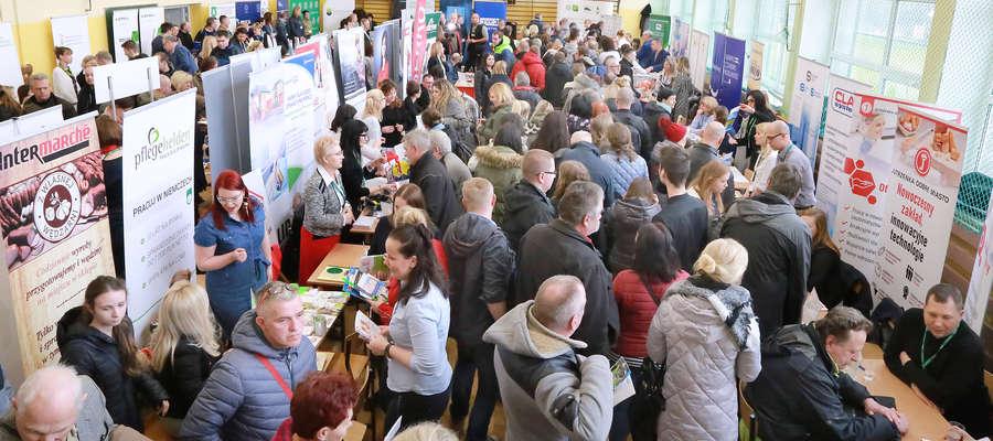 Targi odwiedziło 1,5 tys. osób bezrobotnych oraz poszukujących pracy