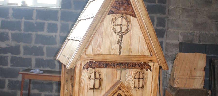 Replika karniszyńskiego kościoła zostanie poświęcona