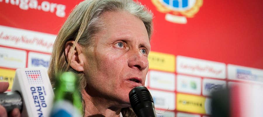 Piotr Zajączkowski, trener Stomilu Olsztyn