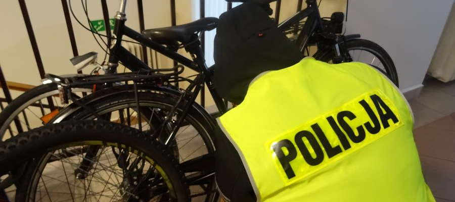 Zabezpieczone rowery