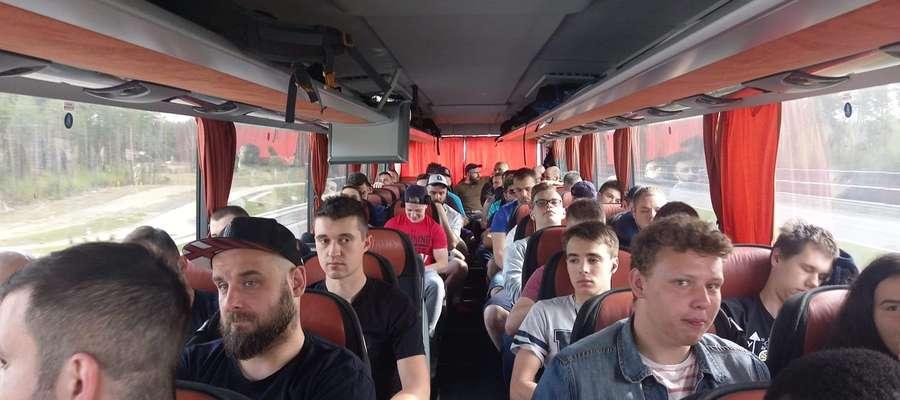 Jeziorowcy w w sobotniej podróży do Łodzi