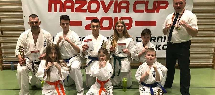 Iławski Klub Karate Kyokushin jak zwykle miał liczną reprezentację na Mazovia Cup 2019
