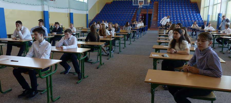 Egzamin w Szkole Podstawowej nr 2 w Piszu