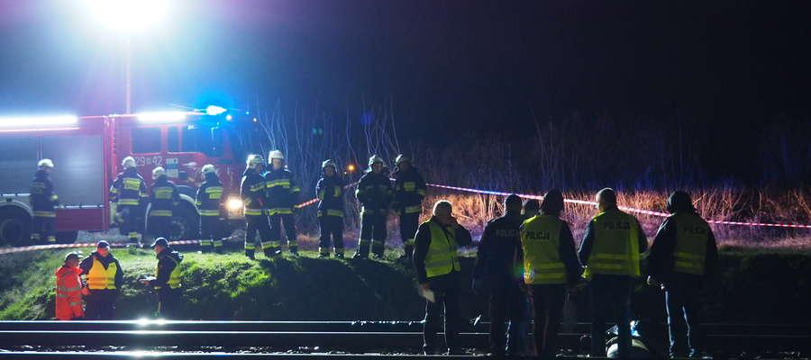 Młody mężczyzna zginął pod kołami pociągu PKP Intercity relacji Olsztyn Główny - Łódź Fabryczna