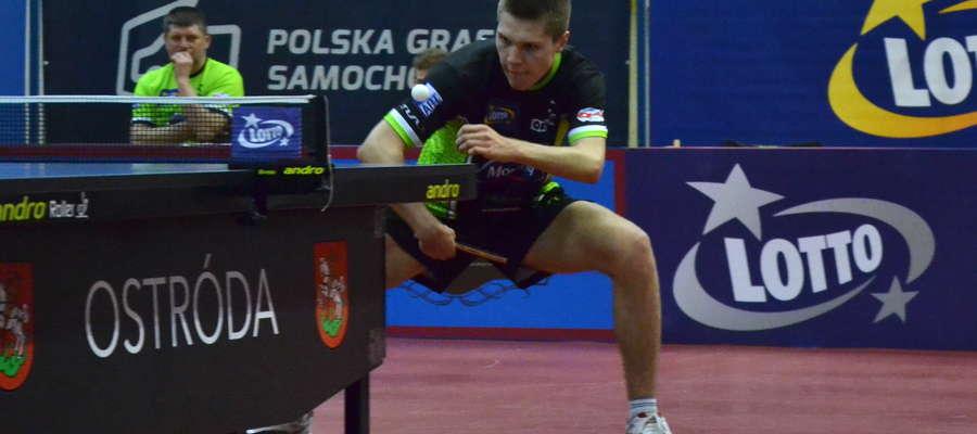 Kacper Petaś przed tygodniem zdobył trzy medale MMP w Krośnie, zatem może w piątkowym meczu z Dojlidami pójdzie za ciosem