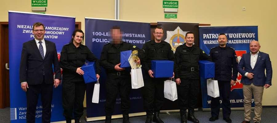 Kętrzyńscy funkcjonariusze znaleźli się w ścisłej czołówce województwa