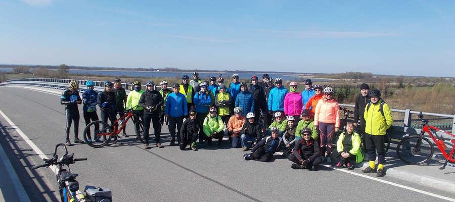 Rowerzyści odwiedzili Mariankę koło Pasłęka