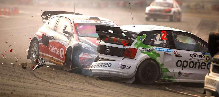 Rallycross to bardzo kontaktowa, a co za tym idzie niezwykle widowiskowa dyscyplina