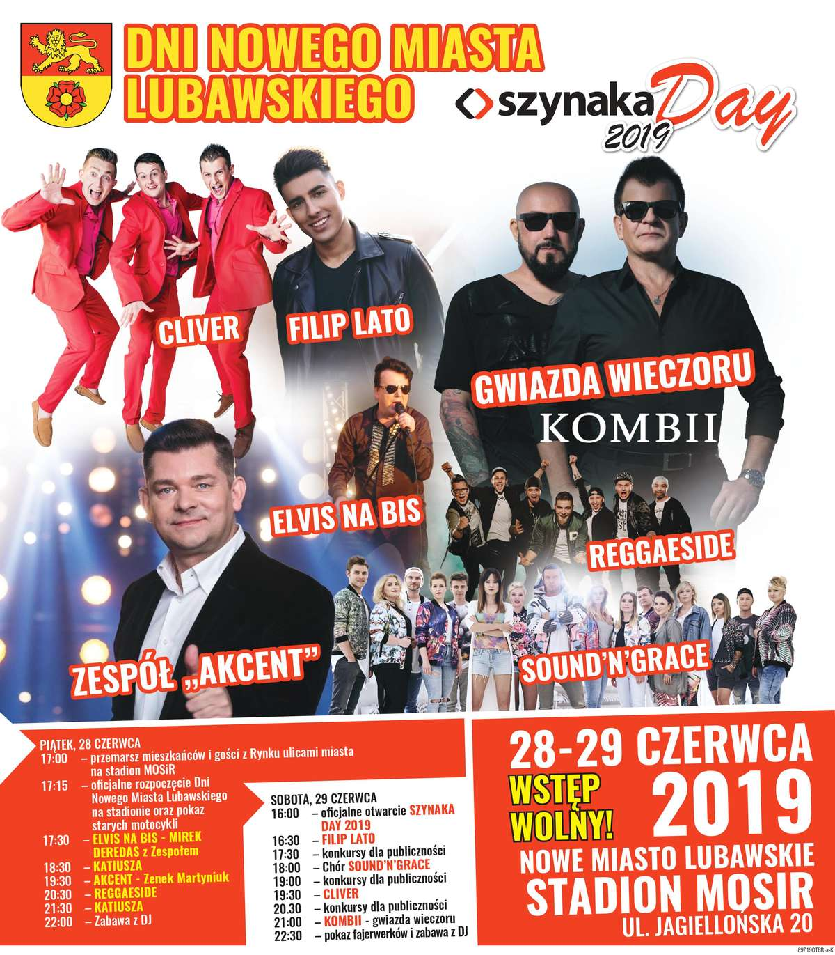 DNI NOWEGO  MIASTA LUBAWSKIEGO i Szynaka Day 2019 - full image