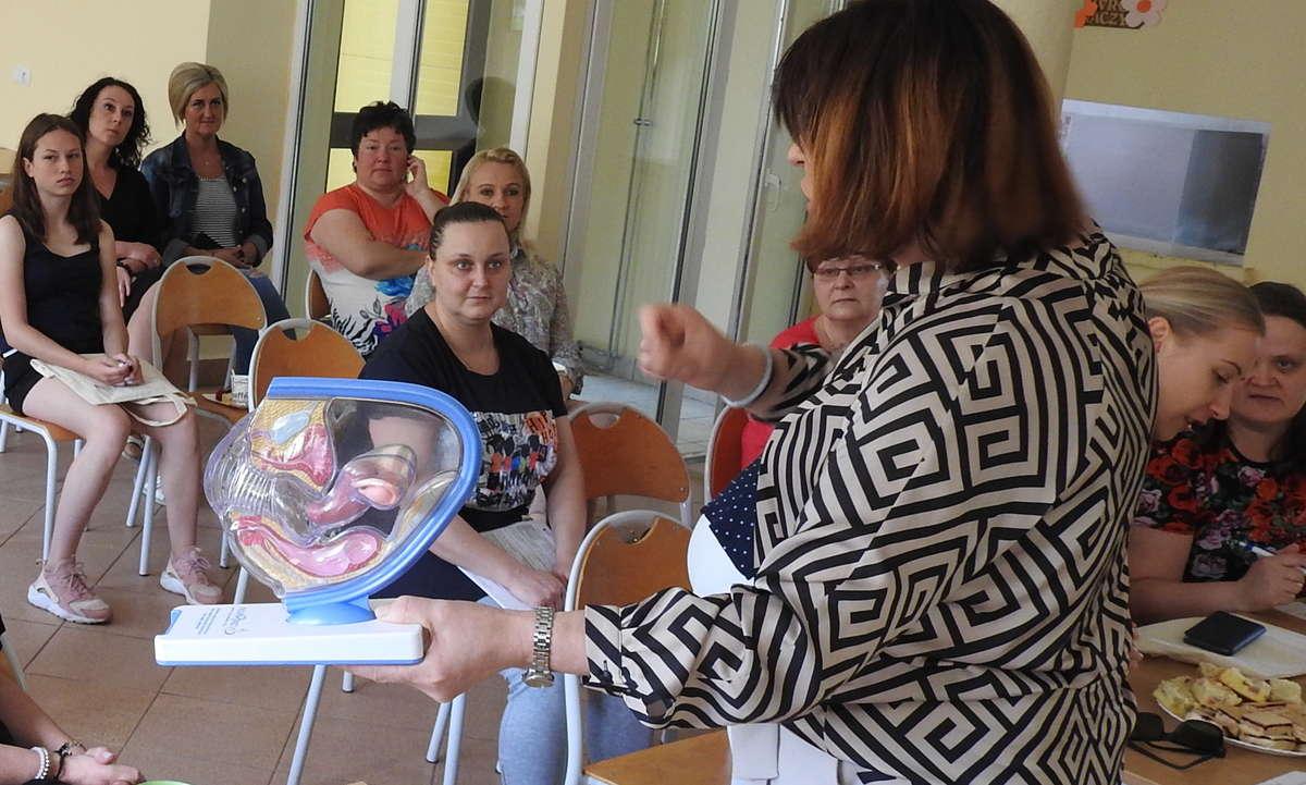 Spotkanie profilaktyczne w Specjalnym Ośrodku Szkolno-Wychowawczym w Lidzbarku Warmińskim
