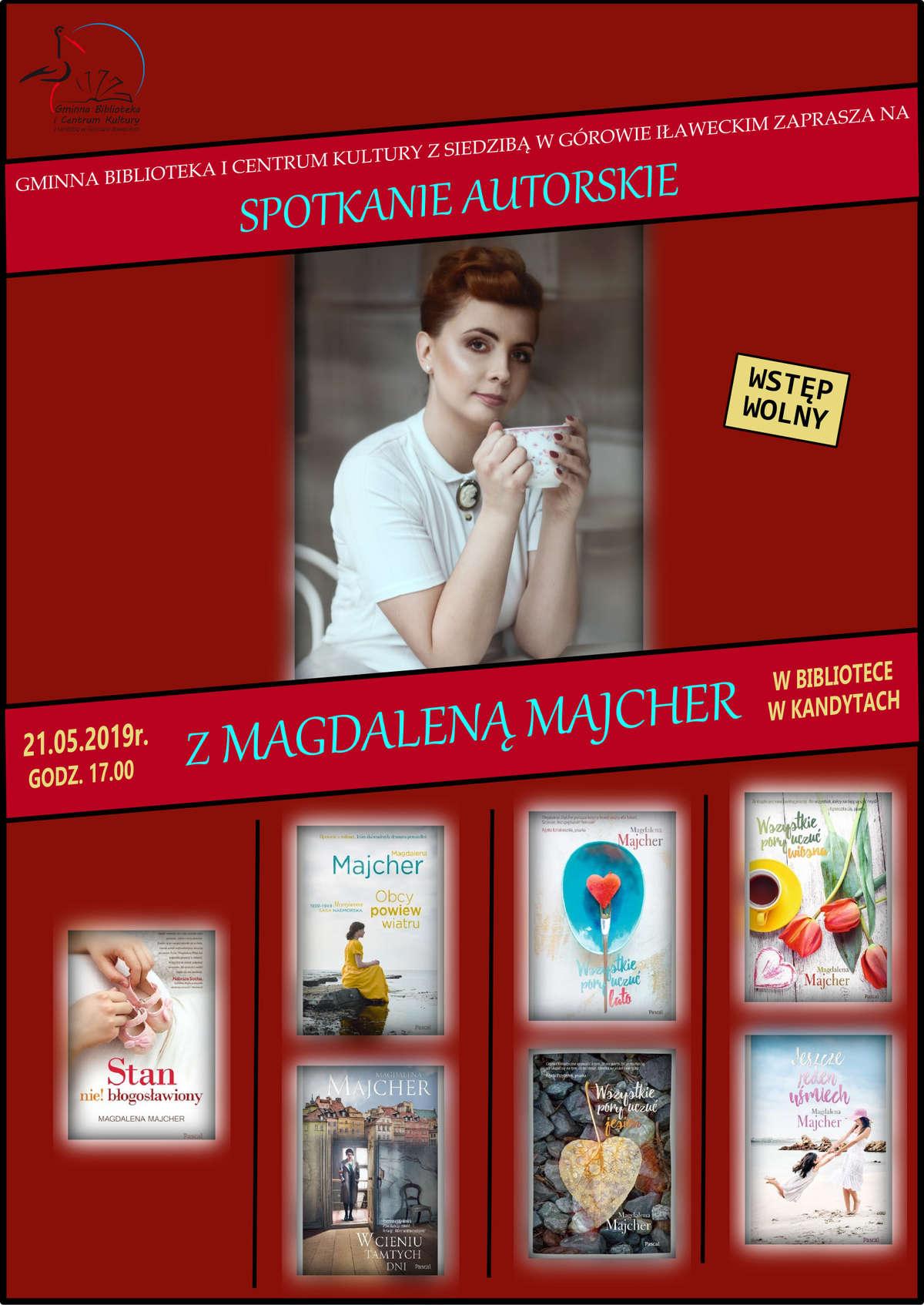 Spotkanie autorskie z Magdaleną Majcher - full image
