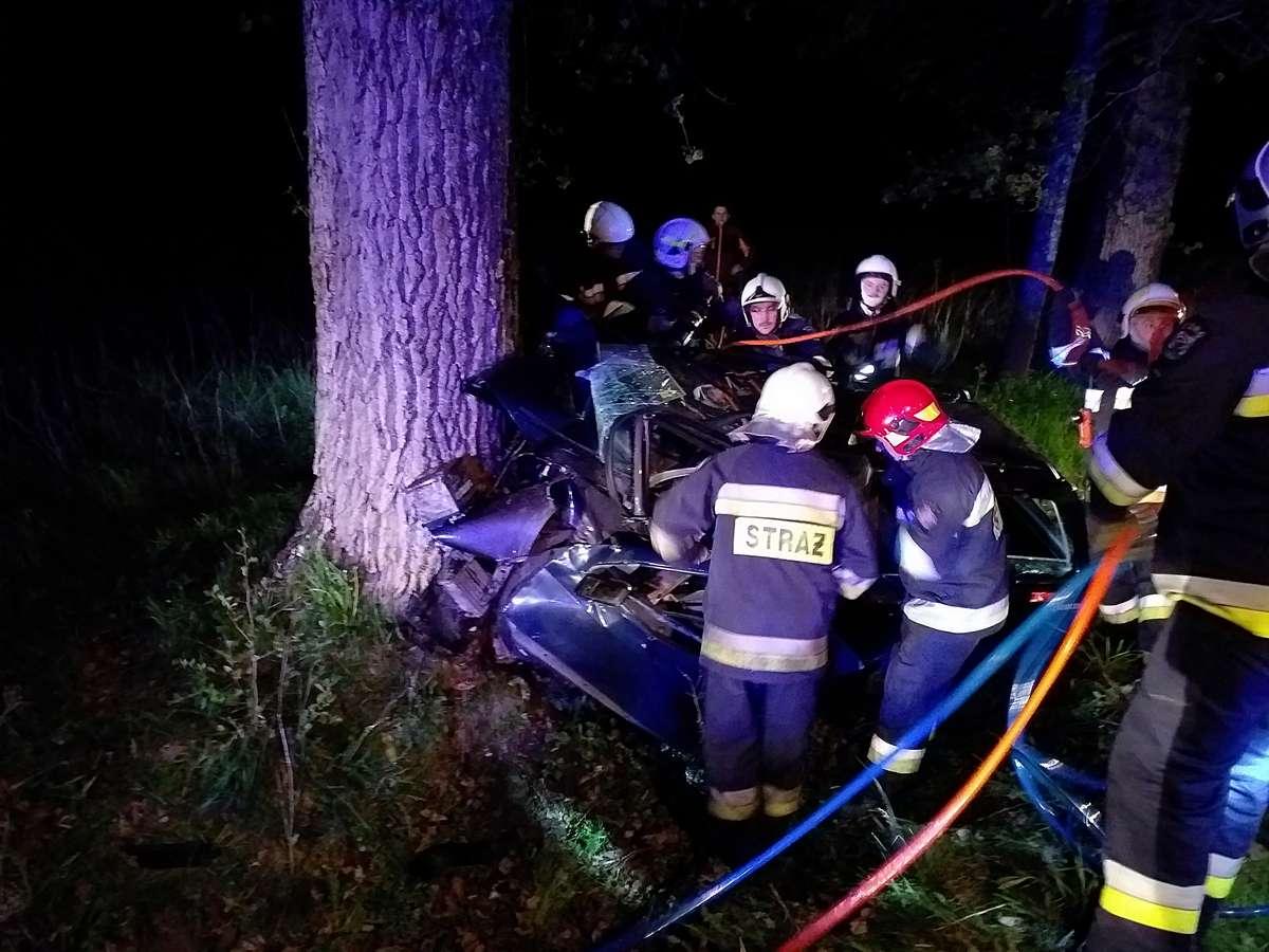 Wypadek pod Wolą Lipecką