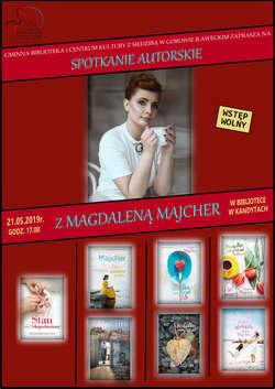 Spotkanie autorskie z Magdaleną Majcher