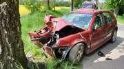 W Lubnowie zderzyły się dwa pojazdy [Zdjęcia]