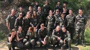 Szkolenie strzeleckie klas mundurowych na strzelnicy w Tylicach