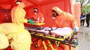 Wszystkie służby ratunkowe w szpitalach w Olsztynie. Trwają pierwsze ćwiczenia na tak dużą skalę [ZDJĘCIA, VIDEO]