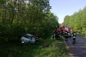 Wypadek w Doliwach koło Olecka