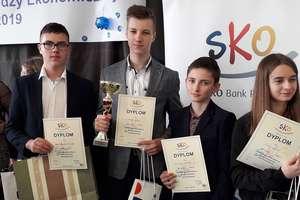 Uczniowie z Tereszewa na drugim miejscu w województwie