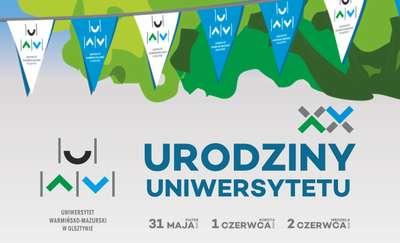 XX lat Uniwersytetu Warmińsko-Mazurskiego
