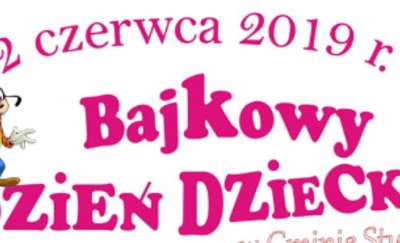Bajkowy Dzień Dziecka w Gminie Stupsk
