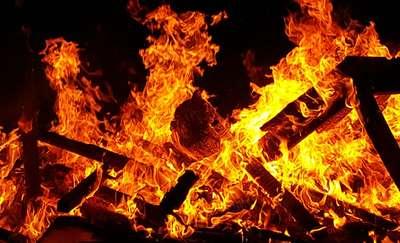 Mężczyzna spłonął w pożarze domu