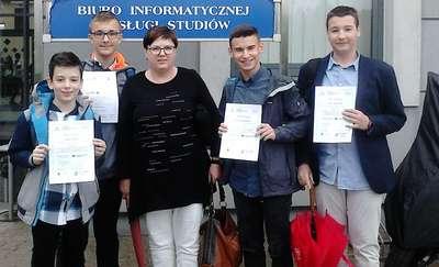 Matematycy z SP2 najlepszymi w województwie