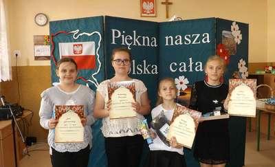 Szkolny Konkurs recytatorski w SP w Bogurzynie