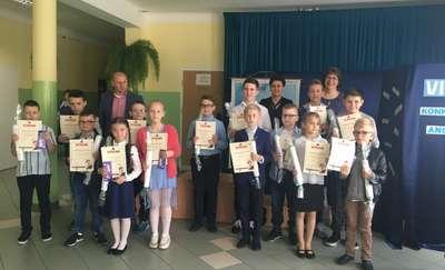 Podsumowanie Gminnego Konkursu z Języka Angielskiego w Wiśniewie