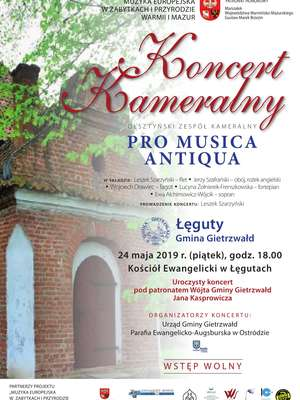 Koncert Kameralny olsztyńskiej grupy Pro Musica Atiqua