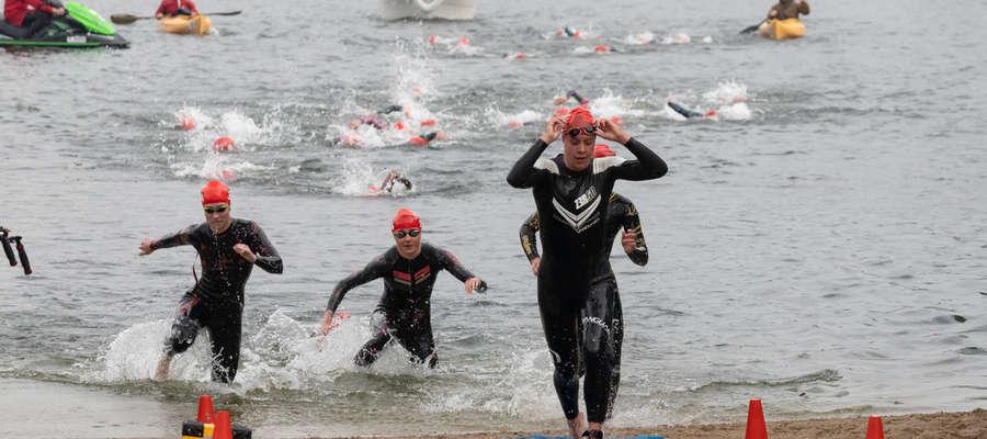 Olsztyn był gospodarzem Pucharu Europy w triathlonie