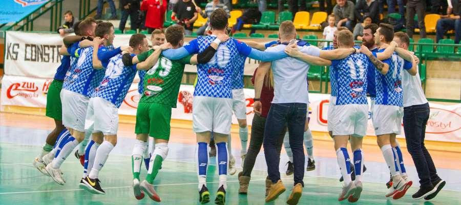 Czy w sobotę lubawski Constract będzie miał okazję do świętowania?