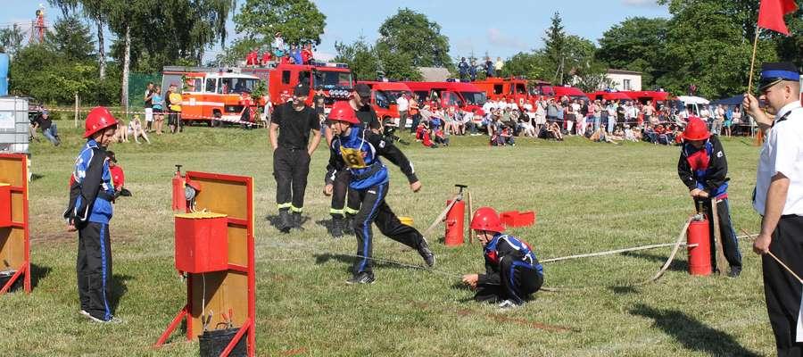 Zawody strażackie zawsze wzbudzają duże zainteresowanie