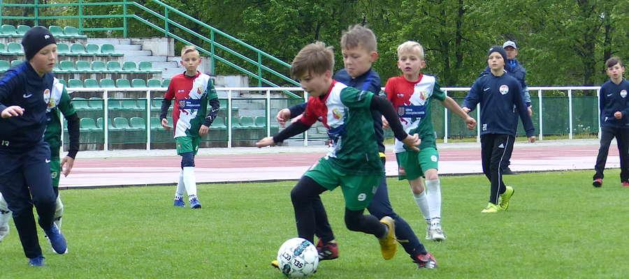 W minioną niedzielę turniej gr. 3 zielonej orlika odbył się w Lubawie, przy piłce Bartek Aranowski, zawodnik Lubawskiej Akademii Piłkarskiej