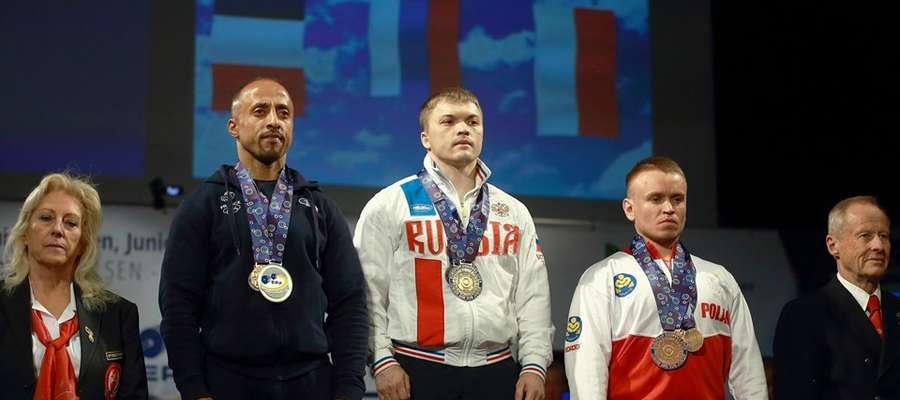Mariusz Grotkowski zdobył brązowy medal Mistrzostw Europy fot. internet