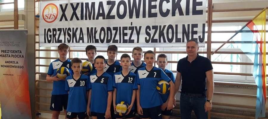 """Żuromińska """"dwójka"""" piątym zespołem Mazowieckich Igrzysk Młodzieży Szkolnej fot. fb"""