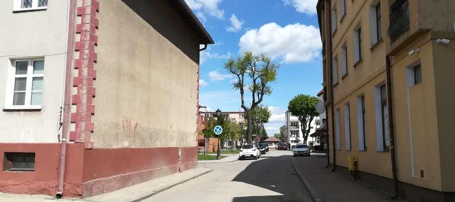 Ulica Ofiar Oświęcimia w Bartoszycach