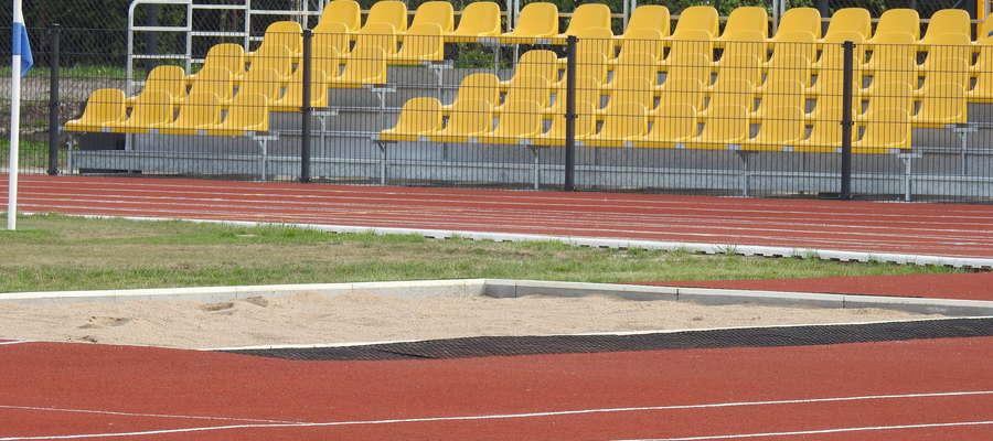 Zmodernizowany stadion w Nowym Mieście Lubawskim ładnie wygląda