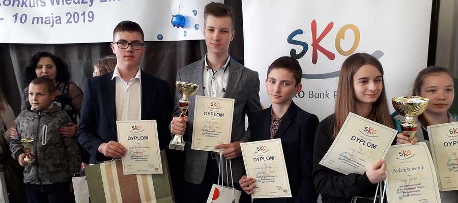 Reprezentanci szkoły w Tereszewie wśród najlepszych w konkursie
